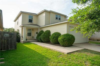 Del Valle Single Family Home Pending - Taking Backups: 5620 Thunder Gulch Dr
