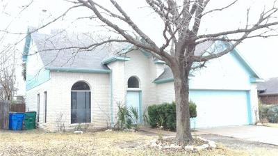 Pflugerville Single Family Home Pending - Taking Backups: 1239 Gazania Dr