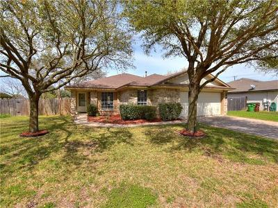 Round Rock Single Family Home For Sale: 1002 Leah Ln