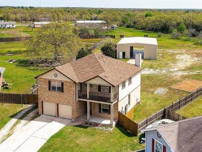 Cedar Creek Single Family Home For Sale: 116 Wildflower Cv