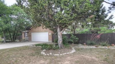 Liberty Hill Single Family Home Pending - Taking Backups: 108 Boulderwood Dr