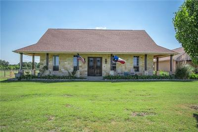 Williamson County Single Family Home For Sale: 501 Fm 2843