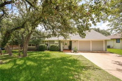 Lago Vista Single Family Home For Sale: 21433 Lakefront Dr