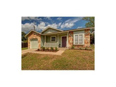 Austin TX Single Family Home For Sale: $269,000