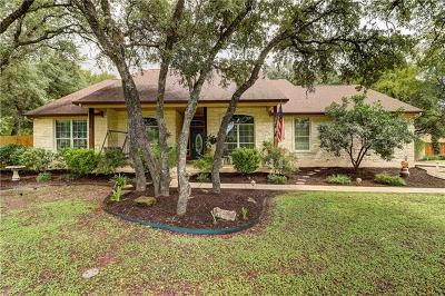 Hays County, Travis County, Williamson County Single Family Home Pending - Taking Backups: 508 Leanna Woods Cv