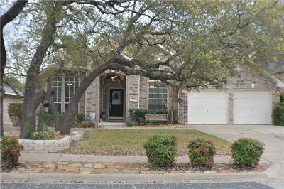 Cedar Park Single Family Home Pending - Taking Backups: 1814 Feather Nest Dr