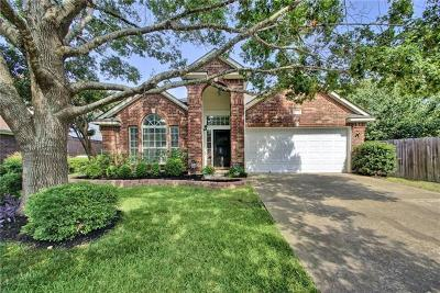Round Rock Single Family Home For Sale: 17006 Hillside Dr