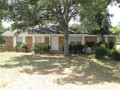 Burnet County Single Family Home For Sale: 115 Saddle Horn Dr