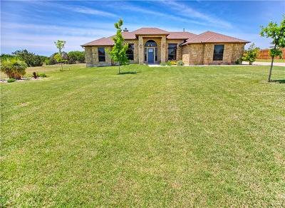 Liberty Hill Single Family Home For Sale: 105 Sarahs Ln