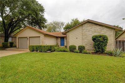 Travis County Single Family Home Pending - Taking Backups: 1216 Doonesbury Dr