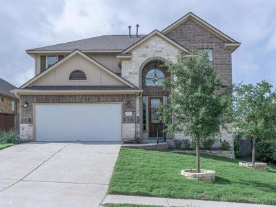 Leander Single Family Home Pending - Taking Backups: 2324 Lookout Range Dr