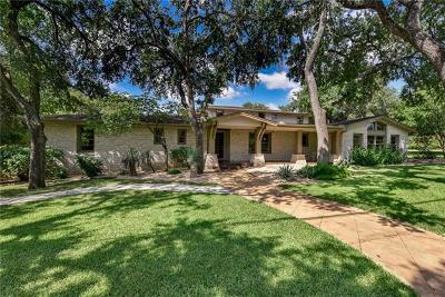 Austin TX Single Family Home For Sale: $2,250,000