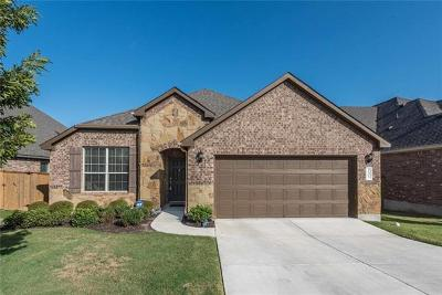 Round Rock Single Family Home For Sale: 3505 De Torres Cir