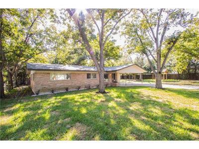 Austin Single Family Home For Sale: 3309 Bosque Ln