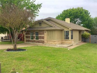 Travis County, Williamson County Single Family Home Pending - Taking Backups: 1203 Greenbriar Loop