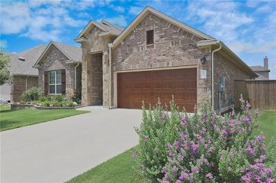 Round Rock Single Family Home For Sale: 2734 San Milan Pass