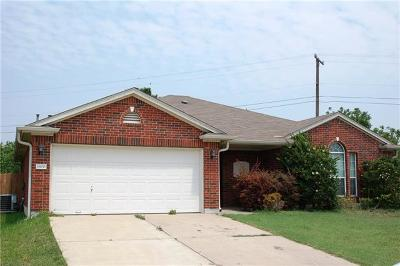 Round Rock Rental For Rent: 1800 Tolstoy Cir