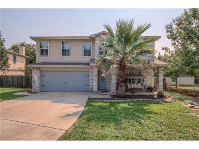 Buda Single Family Home For Sale: 369 S Kates Cv