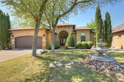 Georgetown Single Family Home Pending - Taking Backups: 849 Caprock Canyon Trl