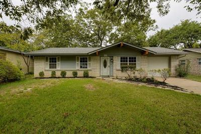 Austin Single Family Home For Sale: 8800 Brookfield Dr