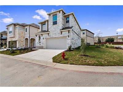 Round Rock Condo/Townhouse For Sale: 2105 Town Centre Dr #40