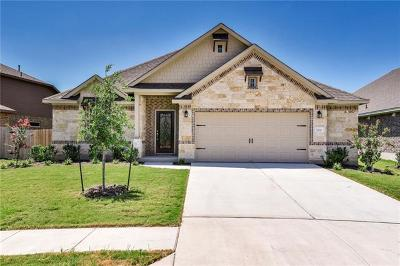 Round Rock Single Family Home For Sale: 7616 Lombardy Loop