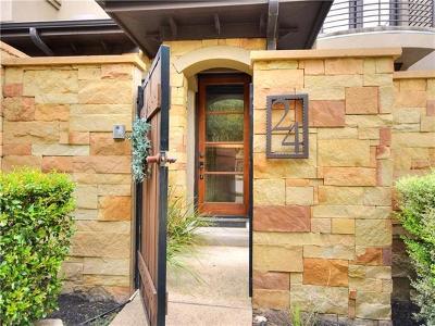 Austin Condo/Townhouse For Sale: 6533 E Hill Dr #24