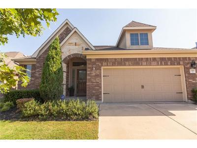 Round Rock Single Family Home For Sale: 2466 Santa Barbara Loop