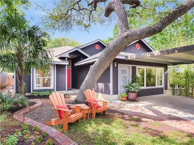 Austin Single Family Home For Sale: 911 W Gibson St