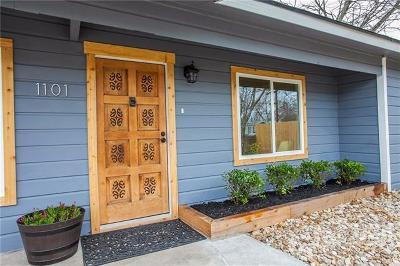 Austin Single Family Home For Sale: 1101 Vasquez St