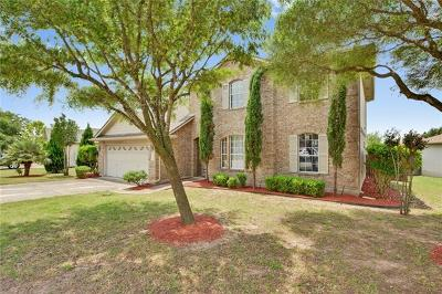 Pflugerville Single Family Home For Sale: 1318 Willow Bluff Dr