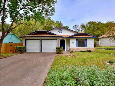Austin Single Family Home Pending - Taking Backups: 704 Hyde Park Pl
