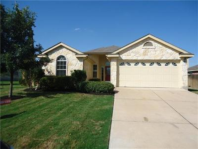 Pflugerville Single Family Home For Sale: 18913 Leigh Ln