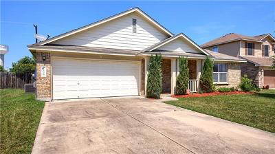 Pflugerville Single Family Home Pending - Taking Backups: 1504 Cora Marie Dr