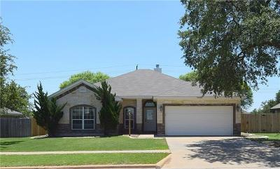 Killeen Single Family Home For Sale: 5902 Boxelder Trl