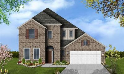 Round Rock TX Single Family Home For Sale: $384,532