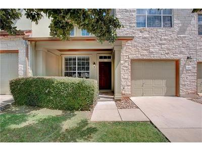 Round Rock Condo/Townhouse For Sale: 2410 Great Oaks Dr #802