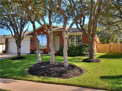 Cedar Park Single Family Home For Sale: 1210 Wood Creek Dr