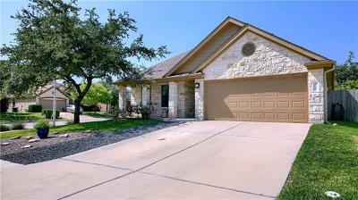 Cedar Park Single Family Home For Sale: 2500 Nightshade Dr