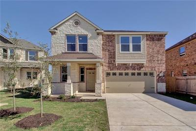 Austin Single Family Home For Sale: 1604 Garamond Ln