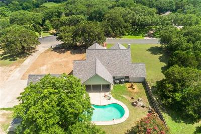 Round Rock Single Family Home For Sale: 18 Country Dr