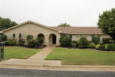 Harker Heights Single Family Home For Sale: 802 E Woodlawn Dr