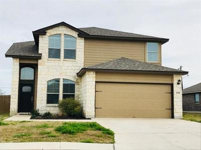 Lockhart Single Family Home Active Contingent: 1608 Paint Brush Dr