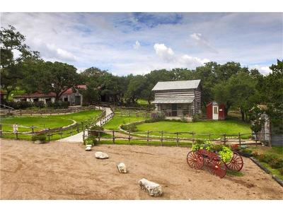 Wimberley Single Family Home For Sale: Deer Lake Rd