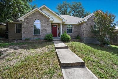 Austin TX Single Family Home For Sale: $319,000