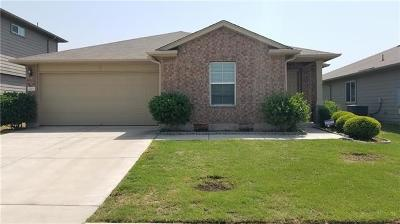Manor Single Family Home Pending - Taking Backups: 13225 Forest Sage St