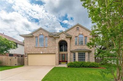 Cedar Park Single Family Home For Sale: 2304 Macaw Dr