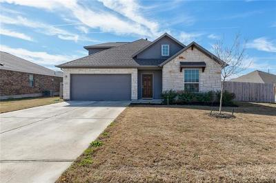 Round Rock Single Family Home For Sale: 5901 Othello Pl