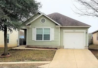 Hays County, Travis County, Williamson County Single Family Home Pending - Taking Backups: 1907 Espino Cv