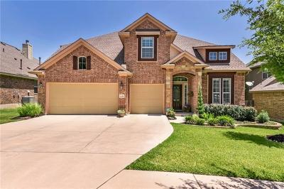 Cedar Park Single Family Home For Sale: 1308 Rimstone Dr